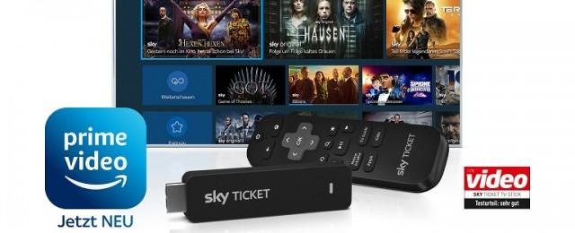 Sky und Amazon kündigen neue Partnerschaft an