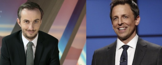 """Neo Magazin Royale""-Satiriker zu Gast in ""Late Night with Seth Meyers"""