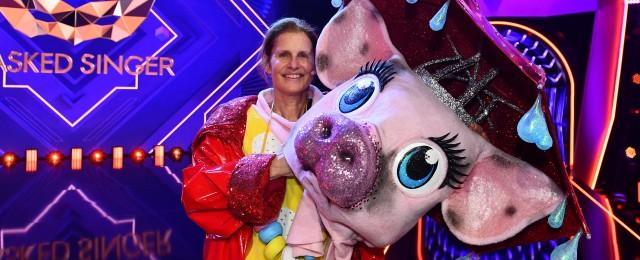 """Katrin Müller-Hohenstein nach """"The Masked Singer"""": """"In dieser Gummi-Schweine-Haut habe ich mich sehr wohlgefühlt"""""""