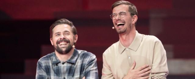 Entertainer-Duo muss eine Woche lang das Programm bewerben