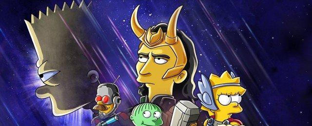 Bart Simpson und Loki machen gemeinsame Sache