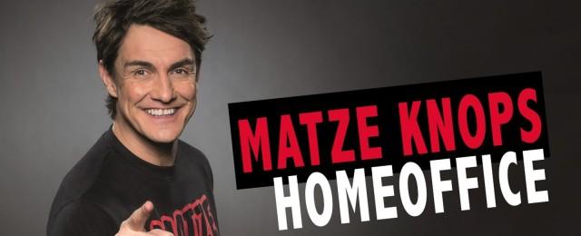 Matze Knop macht Jahresrückblick aus seinem Home Office