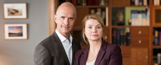 Annette Frier und Christoph Maria Herbst im Interview