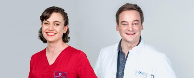 """""""In aller Freundschaft - Die jungen Ärzte"""": Christian Beermann und Milena Straube im Interview"""