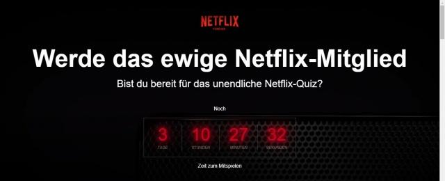Netflix Forever Antworten