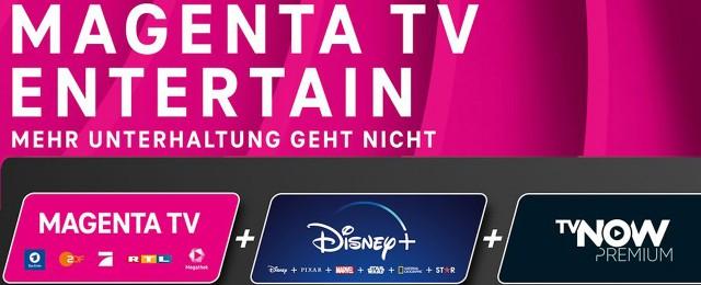 MagentaTV: Neuer Tarif mit Disney+ und TVNOW Premium