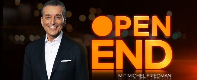 """Open End"": Michel Friedman talkt ohne Zeitlimit"