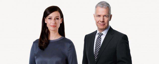 """""""Tagesthemen""""-Moderatorin führt mit Peter Kloeppel durch RTL-Wahl-Triell"""