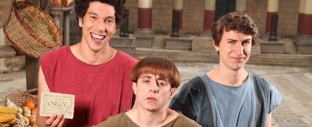 Drei Junggesellen machen das antike Rom unsicher
