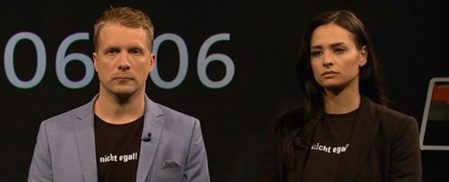 Amira und Oliver Pocher setzen Zeichen gegen Rassismus