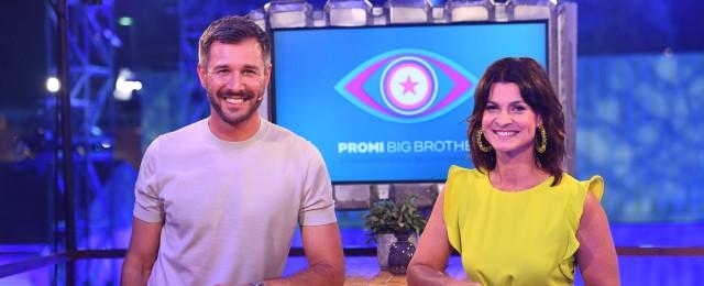 """""""Promi Big Brother"""" mit Zuschauern unter freiem Himmel"""