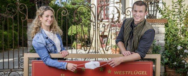 """Sturm der Liebe"": Corona-bedingte Pause endet früher als gedacht"