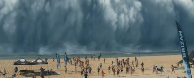 Wolke verschluckt Surfer, die daraufhin Superkräfte erlangen