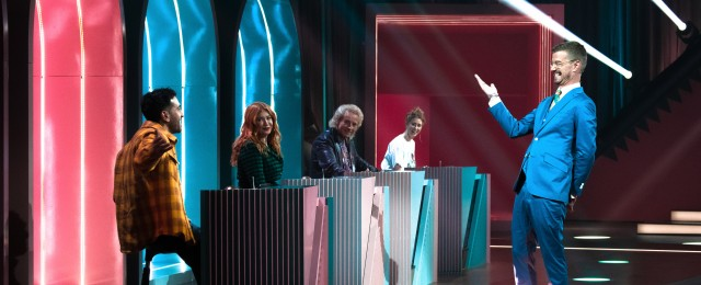 """""""Wer stiehlt mir die Show?"""": Quiz-Evolution im Retro-Look mit XXL-Showtreppe"""