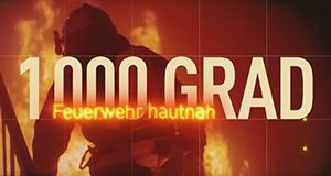 1000 Grad: Feuerwehr hautnah