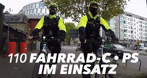 110 - Fahrrad-Cops im Einsatz
