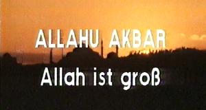 allahu akbar - Allah ist groß