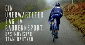 Ein unerwarteter Tag im Radrennsport: Das Movistar Team hautnah