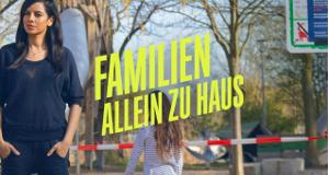 Familien allein zu Haus