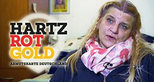 Hartz, Rot, Gold - Armutskarte Deutschland
