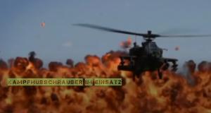 Kampfhubschrauber im Einsatz