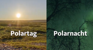 Polartag/Polarnacht