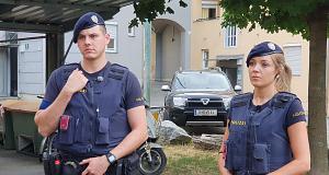 Polizei Graz - Radau in Karlau