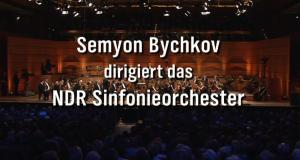 Semyon Bychkov dirigiert
