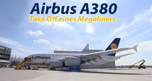 Airbus A380 - Take Off eines Megaliners
