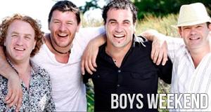 Boys Weekend - Kochen ist Männersache!
