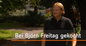 Bei Björn Freitag gekocht
