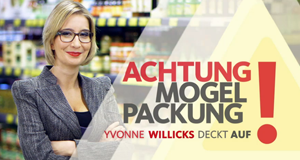 Achtung Mogelpackung