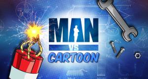 Man vs. Cartoon