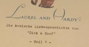 Laurel und Hardy - Die komische Liebesgeschichte von Dick und Doof