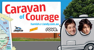 Hamish & Andy - Caravan of Courage