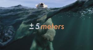 +/- 5 Meter