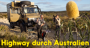 Highway durch Australien
