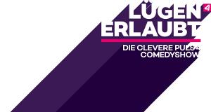 Lügen erlaubt - Die clevere PULS 4-Comedy-Show