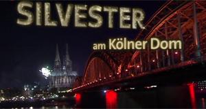 Silvesterfeuerwerk am Kölner Dom