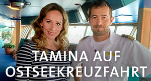 Tamina auf Ostseekreuzfahrt