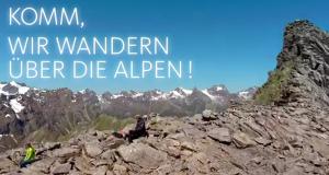 Tamina in den Alpen