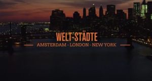 Amsterdam, London, New York - Welt-Städte