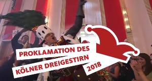 Proklamation des Kölner Dreigestirns