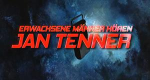Erwachsene Männer hören Jan Tenner