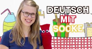 Deutsch mit Socke
