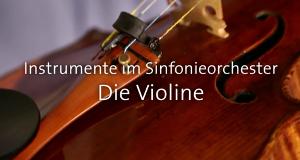 Instrumente im Sinfonieorchester