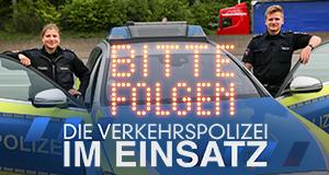 Bitte folgen! Die Verkehrspolizei im Einsatz