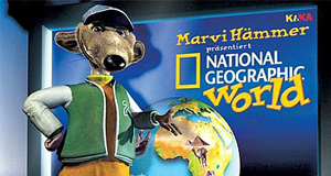 Marvi Hämmer präsentiert National Geographic World