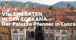 Villengärten in der Toskana