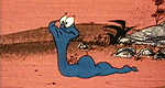 Der blaue Sauser